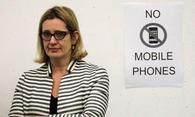 Amber Rudd to meet tech firms in California over extremist content