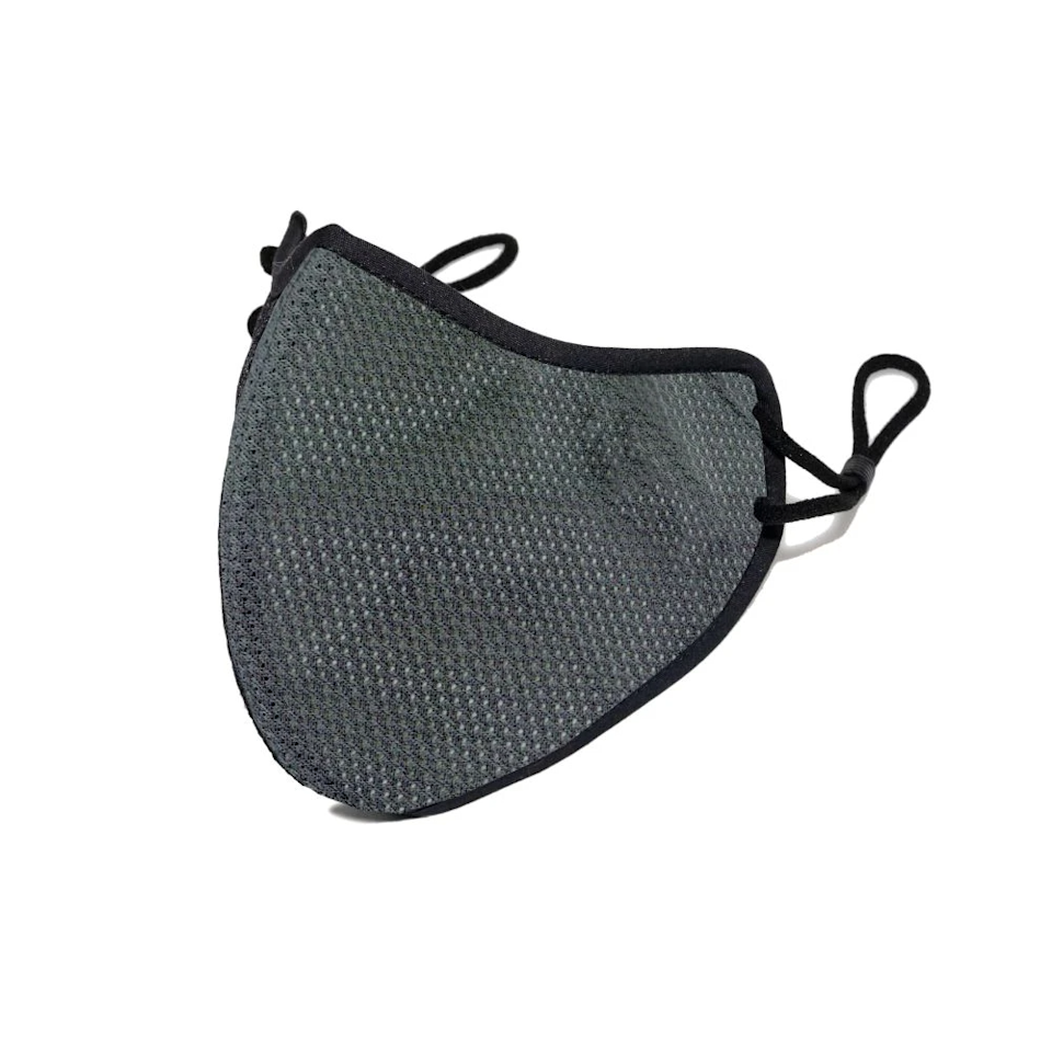 "<h3>Happy Mask Pro</h3><br><strong>Size range:</strong> Small (intended for children), Medium, Large<br><br>This mask features a total of 5 layers, including a 3-ply nanofiber membrane filter, which provides over 99.9% filtration against viruses, bacteria, and air pollution.<br><br><strong>Happy Masks</strong> Pro Face Mask, $, available at <a href=""https://go.skimresources.com/?id=30283X879131&url=https%3A%2F%2Fwww.happymasks.com%2Fcollections%2Fpro%2Fproducts%2Fgray-pro"" rel=""nofollow noopener"" target=""_blank"" data-ylk=""slk:Happy Masks"" class=""link rapid-noclick-resp"">Happy Masks</a>"