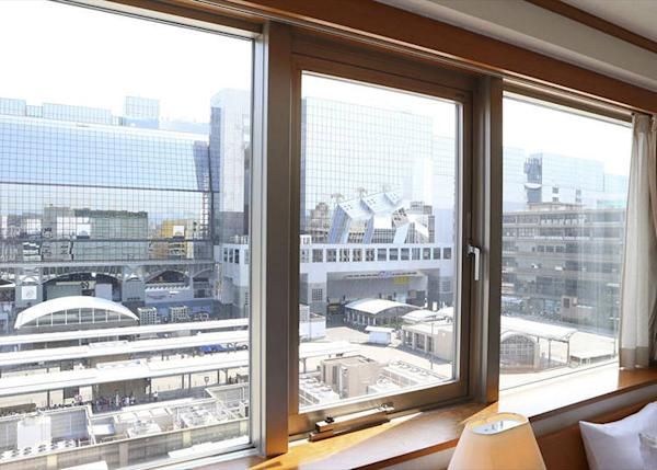A clear view of Kyoto Station