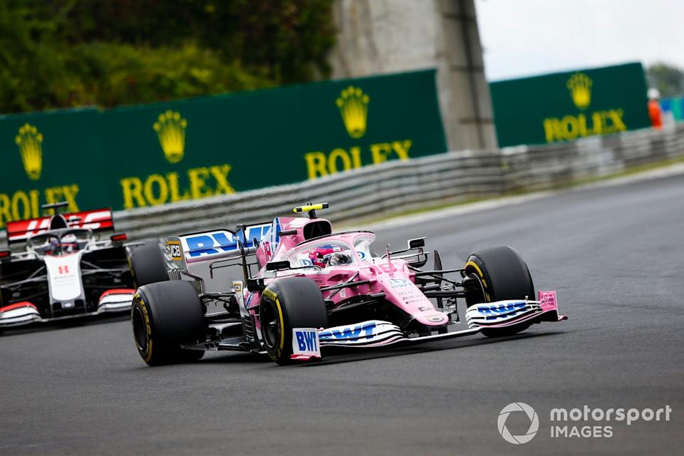 """Lance Stroll, Racing Point RP20 <span class=""""copyright"""">Andy Hone / Motorsport Images</span>"""