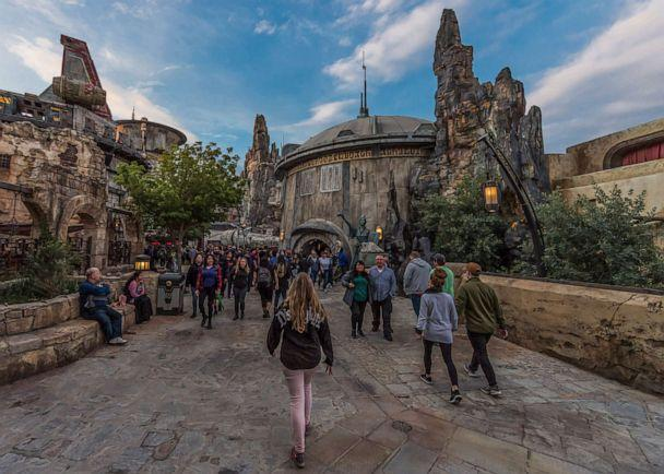 PHOTO: Star Wars: Galaxy's Edge at Disneyland Park in Anaheim, California, and at Disney's Hollywood Studios in Lake Buena Vista, Florida, is Disney's largest single-themed land expansion ever at 14-acres each. (Joshua Sudock/Disney Parks)