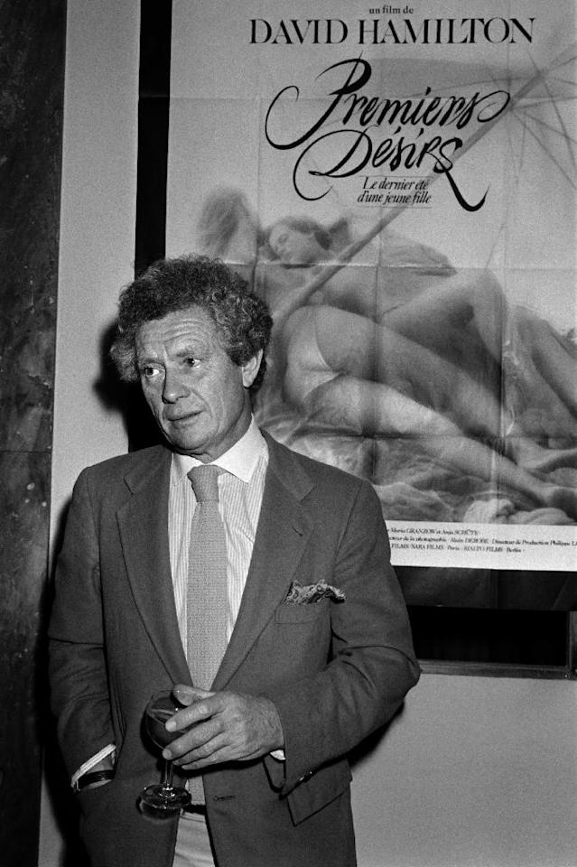 British photographer and film director David Hamilton is most famous for his kitschy calendars of young girls and his soft-focus erotic films from 1977 (AFP Photo/Pierre Verdy)