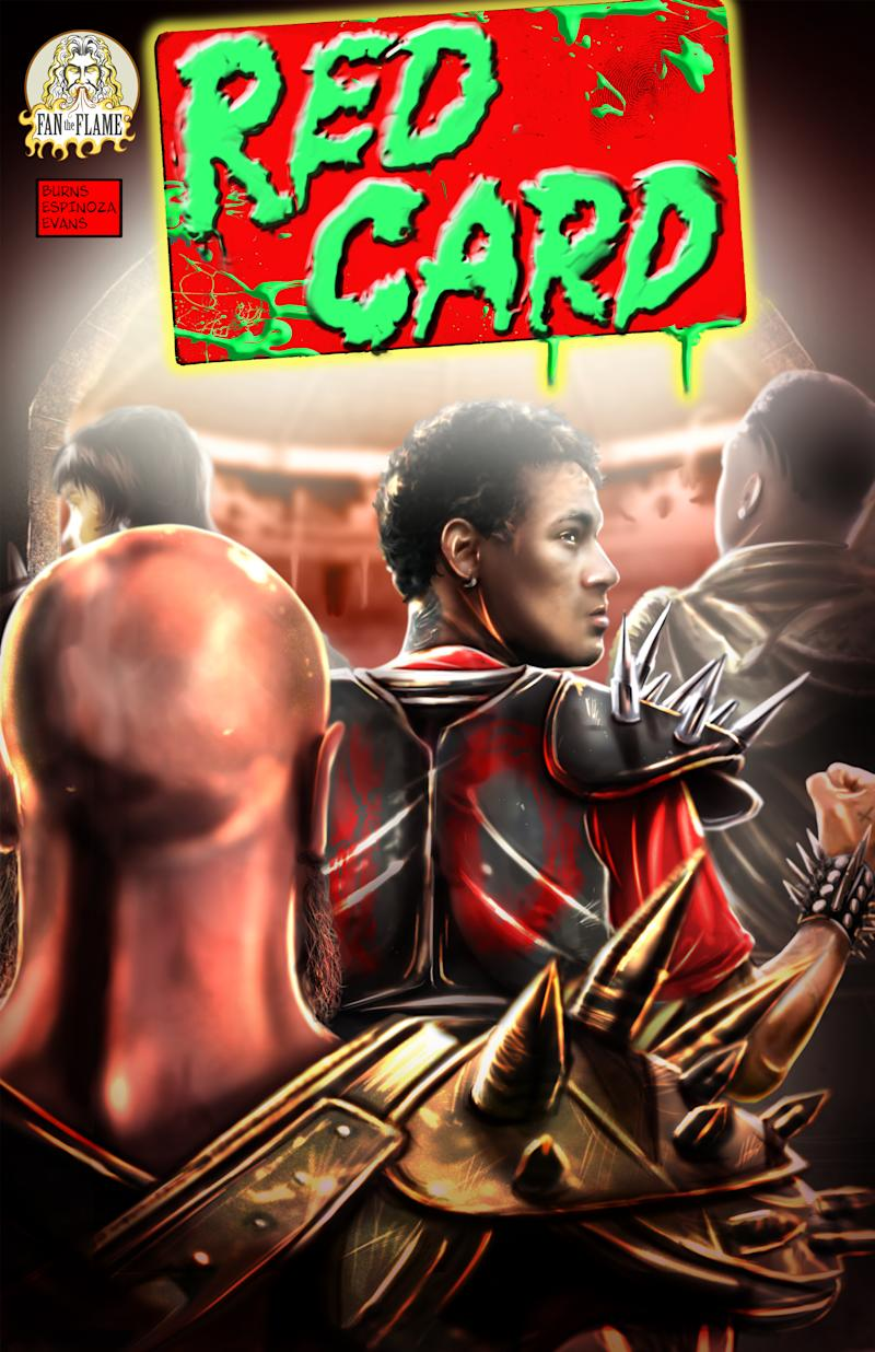 "Neymar Jr. Comics Launches New Sci-Fi Series ""Red Card"""