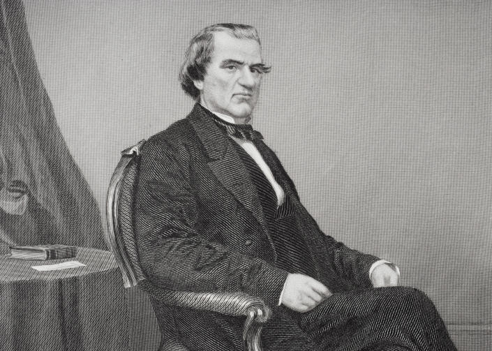 President Andrew Johnson (Photo: Universal History Archive/Getty Images)