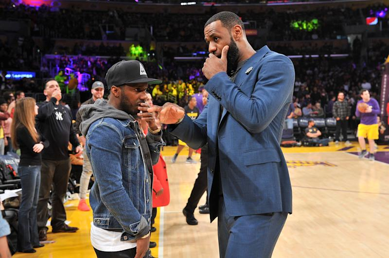 LeBron James lit into the NCAA over a new policy that would limit Rich Paul's ability to gain clients. (Getty)