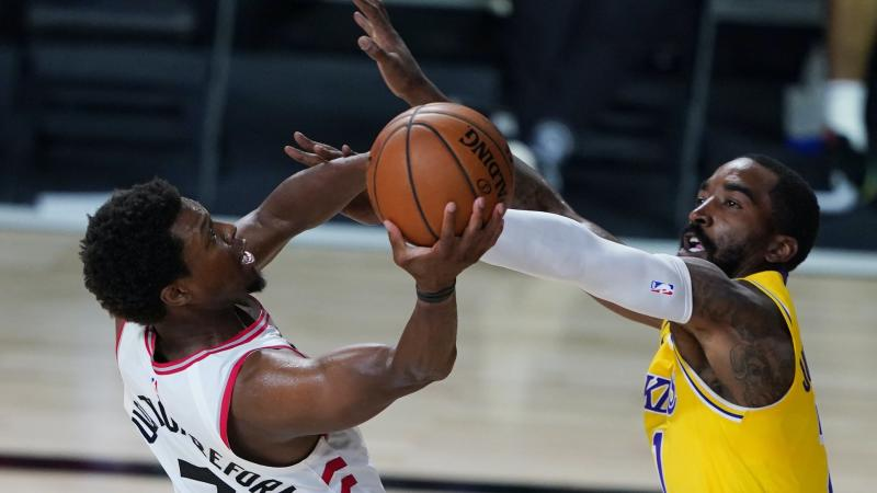 Kyle Lowry fires for Toronto as Raptors repel lacklustre LA Lakers
