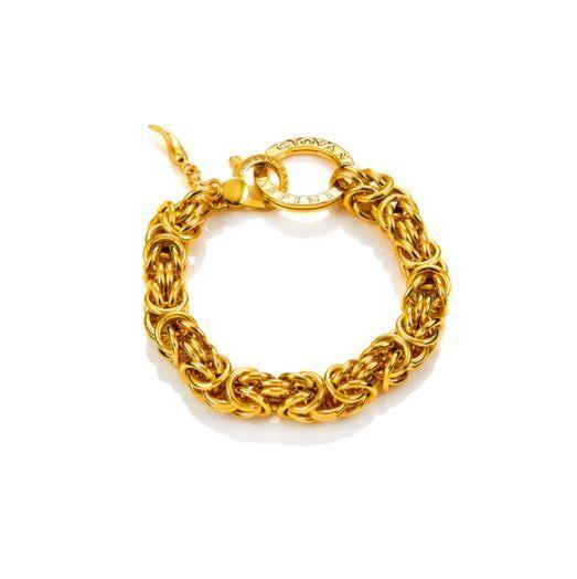 """<p><a class=""""link rapid-noclick-resp"""" href=""""https://shop.giovanniraspini.com/gb/gold_plated_bizantine_style_bracelet"""" rel=""""nofollow noopener"""" target=""""_blank"""" data-ylk=""""slk:SHOP NOW"""">SHOP NOW</a></p><p>Take a bolder approach with Giovanni Raspini's intricate Byzantine chain bracelet - a style that can trace its roots back to the 5th Century. This is a great statement piece that looks spectacular worn alone. </p><p>Gold-plated silver bracelet, £295, <a href=""""https://shop.giovanniraspini.com/gb/"""" rel=""""nofollow noopener"""" target=""""_blank"""" data-ylk=""""slk:Giovanni Raspini"""" class=""""link rapid-noclick-resp"""">Giovanni Raspini</a></p>"""