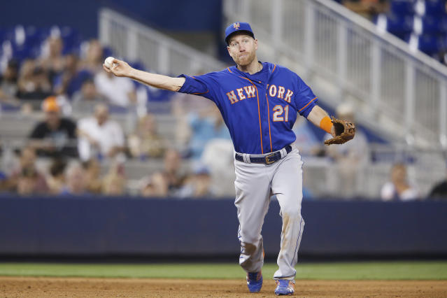 """<a class=""""link rapid-noclick-resp"""" href=""""/mlb/players/8629/"""" data-ylk=""""slk:Todd Frazier"""">Todd Frazier</a> could be a nice addition for a contending team at the July 31 trade deadline. (Michael Reaves/Getty Images)"""
