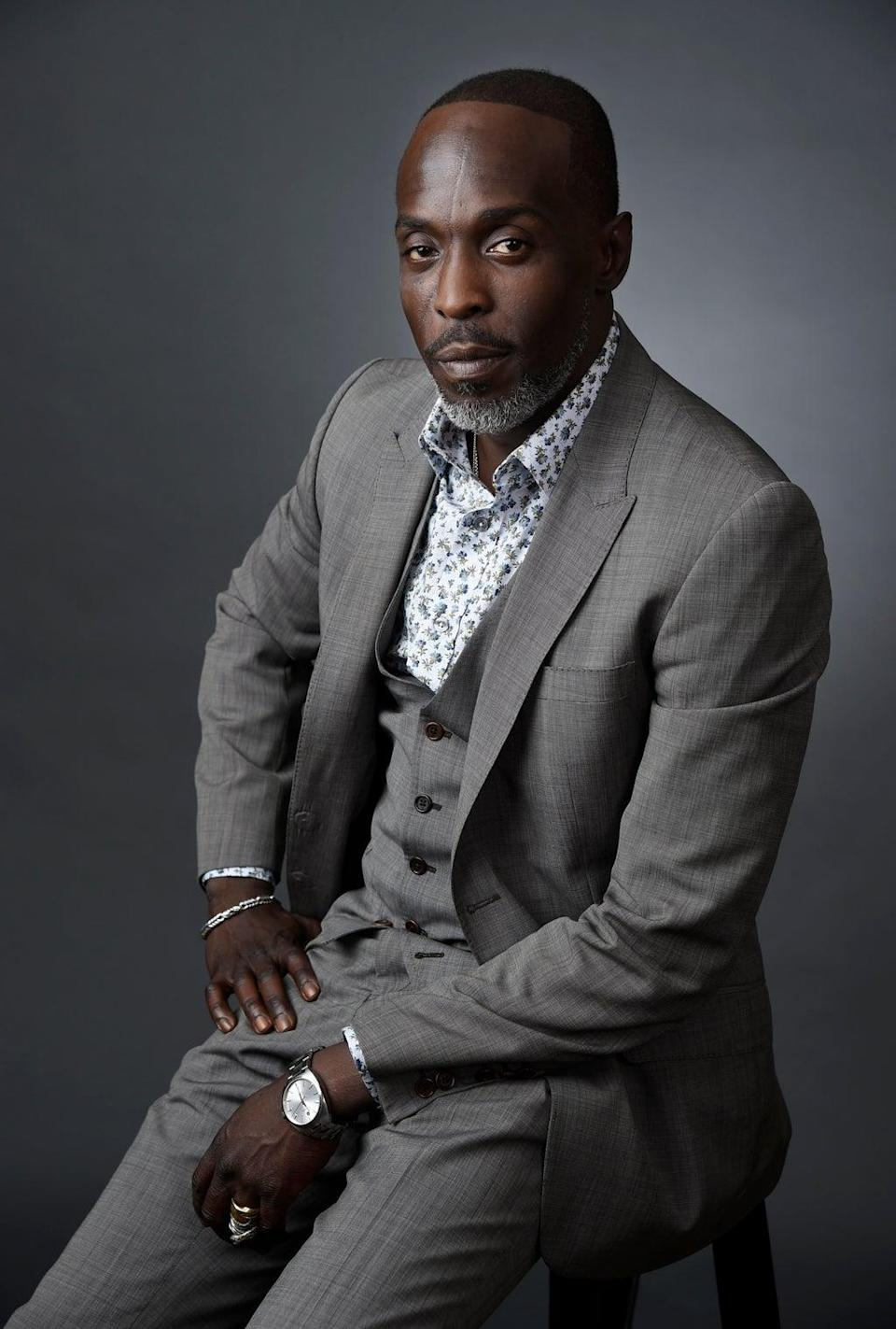 Spike Lee, Wendell Pierce and Aldis Hodge have led the tributes to The Wire actor Michael K Williams following his death aged 54 (Chris Pizzello/Invision/AP, File) (AP)