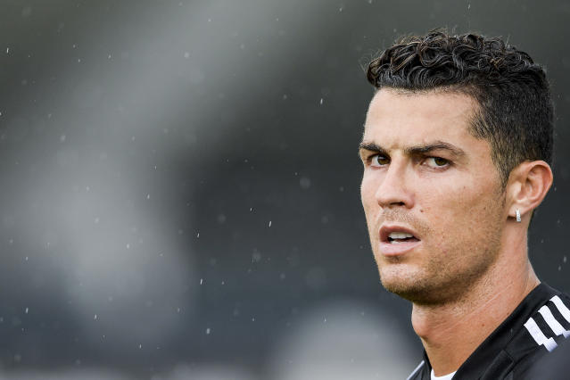 Cristiano Ronaldo took to social media (Photo by Daniele Badolato via Getty Images)