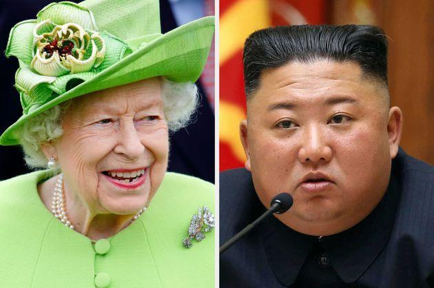 The Queen sent a message to Kim Jong Un in September (Photo: Getty/PA)