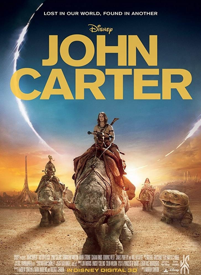 "<p>Disney went full steam ahead with <em>John Carter,</em> in an attempt to build a franchise around the fantasy novels. Instead, they wound up with a flop that cost them around <a href=""https://www.forbes.com/sites/scottmendelson/2015/03/09/famous-flops-john-carter-became-shorthand-for-box-office-bomb/#cc25e6e68280"" rel=""nofollow noopener"" target=""_blank"" data-ylk=""slk:$307 million to make"" class=""link rapid-noclick-resp"">$307 million to make</a> and only brought in <a href=""https://www.forbes.com/sites/scottmendelson/2015/03/09/famous-flops-john-carter-became-shorthand-for-box-office-bomb/#cc25e6e68280"" rel=""nofollow noopener"" target=""_blank"" data-ylk=""slk:$284 million worldwide"" class=""link rapid-noclick-resp"">$284 million worldwide</a>.</p>"