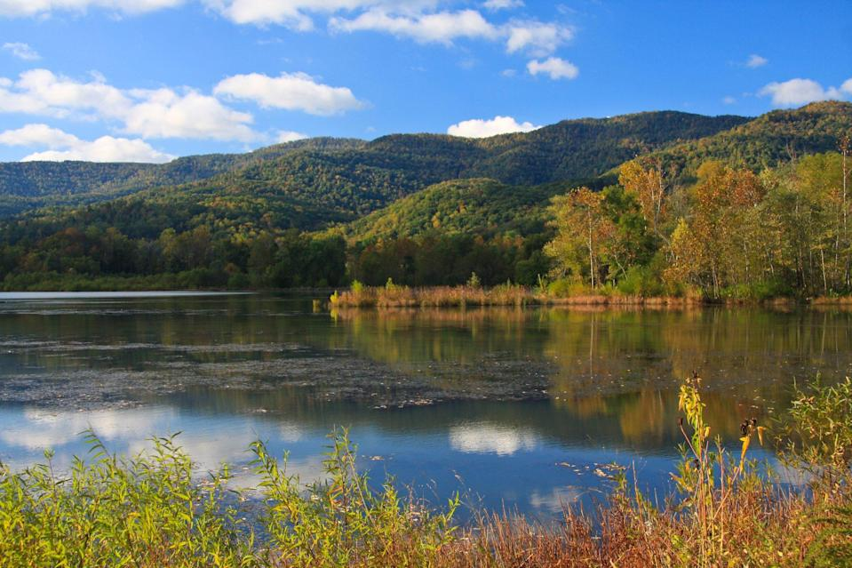 <p>The Cumberland Mountains are also located in the Appalachian range. Found in western Virginia, southwestern West Virginia, eastern Kentucky, and Tennessee, the range's highest point is High Knob, and there are many lakes and rivers in and around the region.</p>