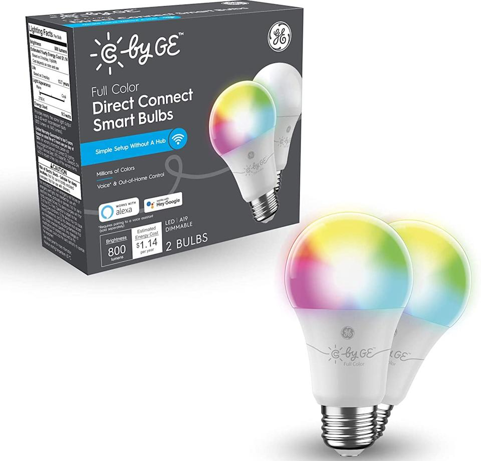 Enjoy a full range of lighting color, at a heavy discount. (Photo: Amazon)