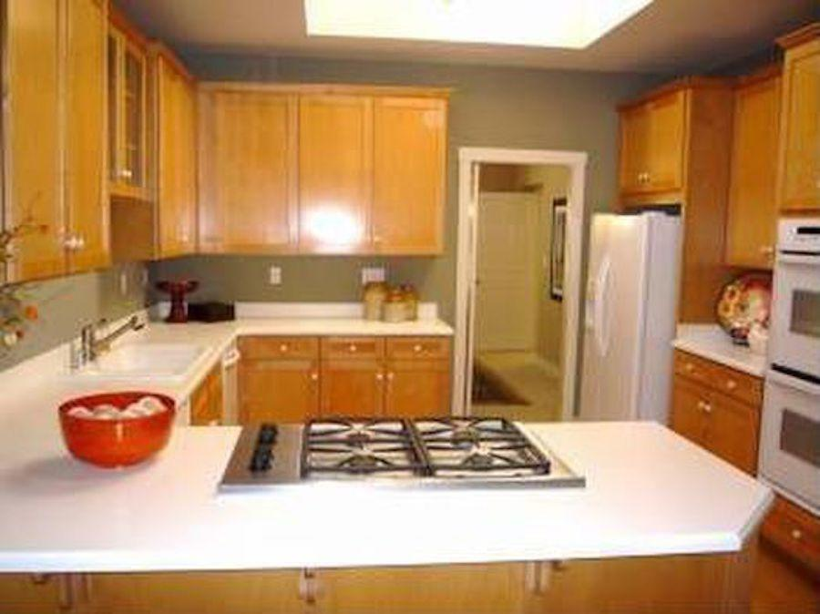 <p>Outdated cabinets, countertops, and appliances made this kitchen an obvious candidate for a big overhaul. </p>