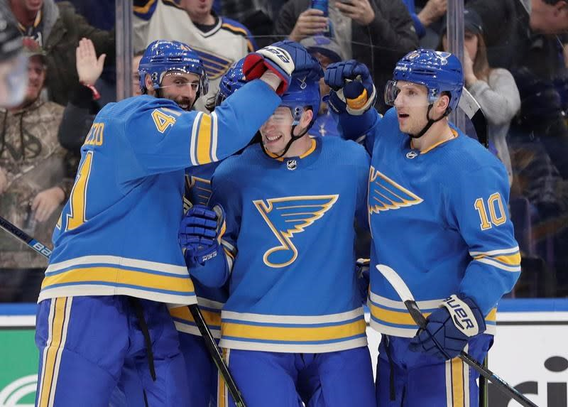 Since the calendar turned to 2019, the Blues have been significantly better. (AP)