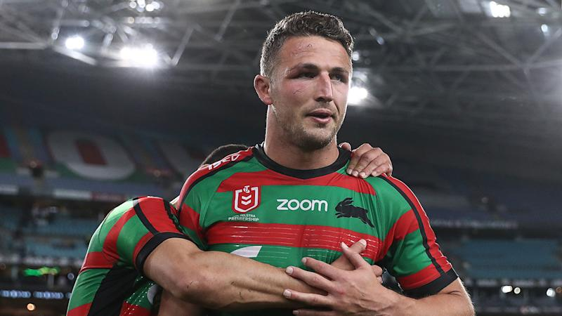 The Rabbitohs will be sweating on the latest injury to Sam Burgess.