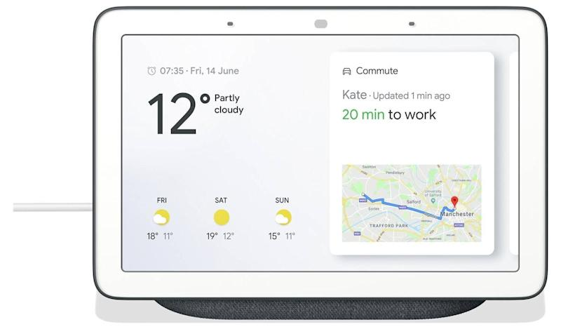 Google Nest Hub - Charcoal (Photo: HuffPost UK)