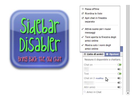 Facebook Chat Sidebar Disabler