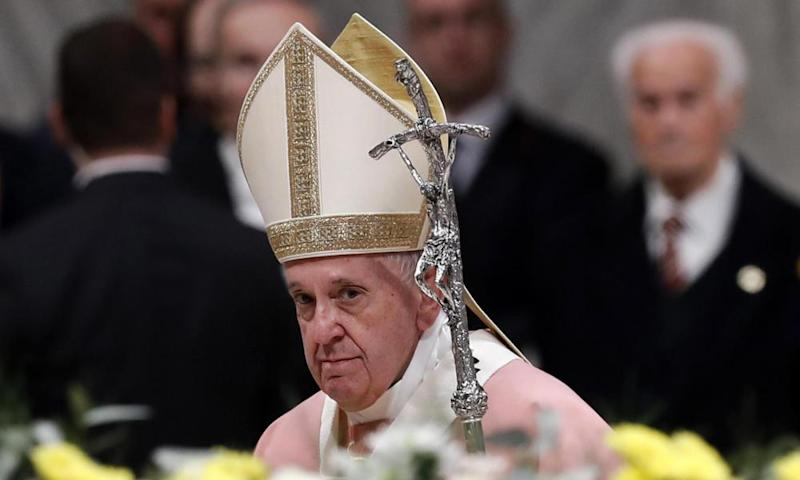 Pope Francis presides a Mass for the Philippine Community.