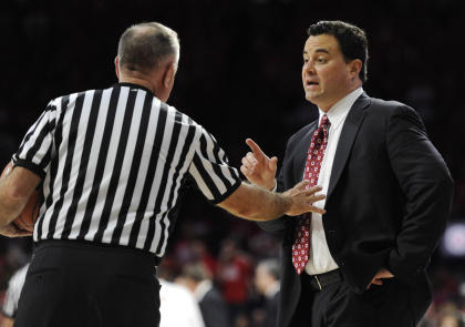 Sean Miller's Wildcats only lost to UNLV, Oregon State and Arizona State this season. (USAT)