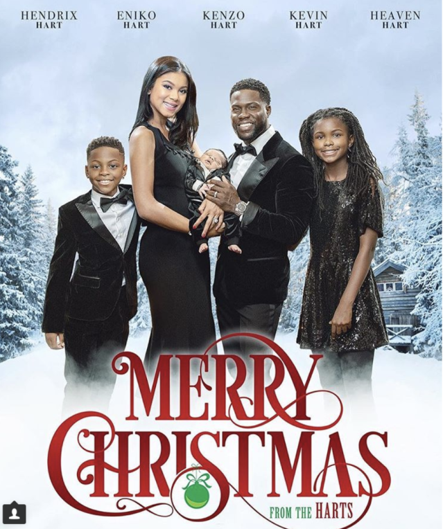 "<p>Talk about a blockbuster! ""Happy Holidays from the Harts,"" the actor captioned his family's movie poster-themed Christmas card, featuring their brand new baby, Kenzo. ""It's beginning to feel a lot like Christmas,"" he wrote. (Photo: <a href=""https://www.instagram.com/p/Bcu2KyUDpLl/?taken-by=kevinhart4real"" rel=""nofollow noopener"" target=""_blank"" data-ylk=""slk:Kevin Hart via Instagram"" class=""link rapid-noclick-resp"">Kevin Hart via Instagram</a>) </p>"