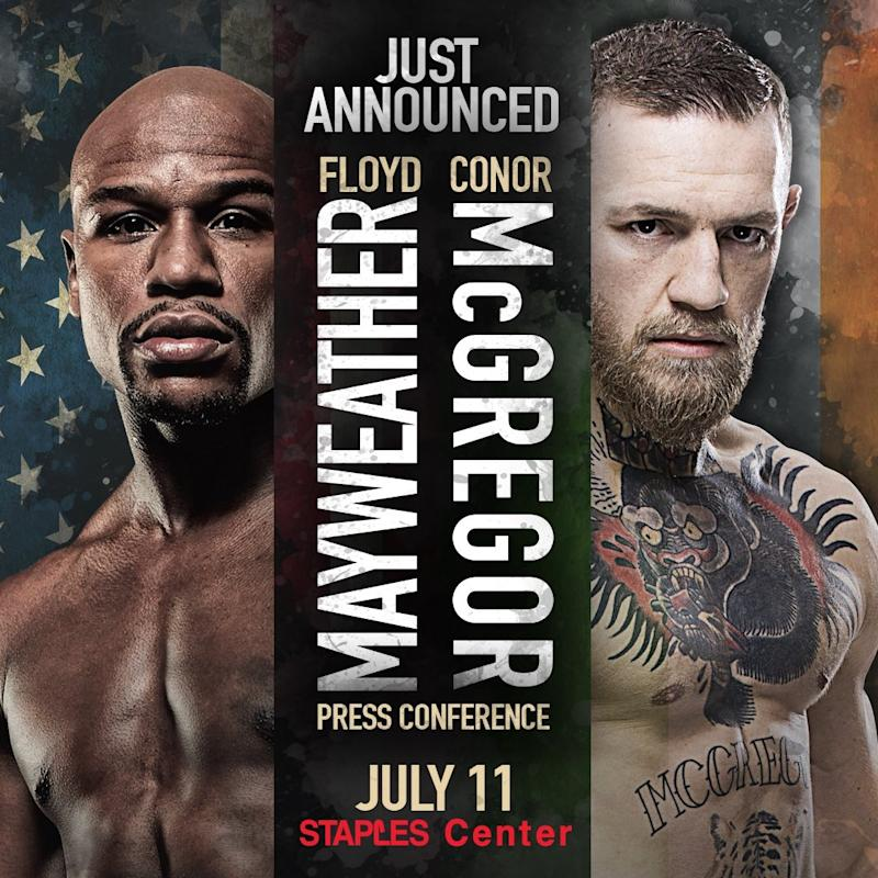 First Floyd Mayweather vs Conor McGregor press conference confirmed