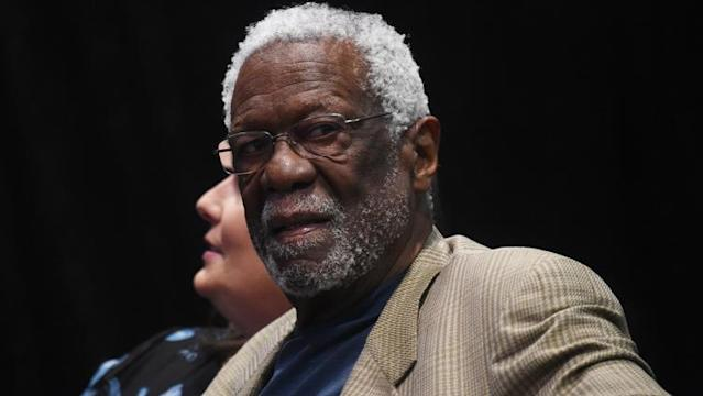 Celtics legend Bill Russell was honored with the Arthur Ashe Courage Award at the ESPYs on Wednesday night.