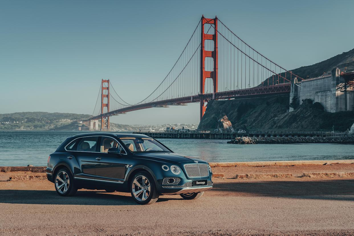 The Bentayga turns heads wherever it is