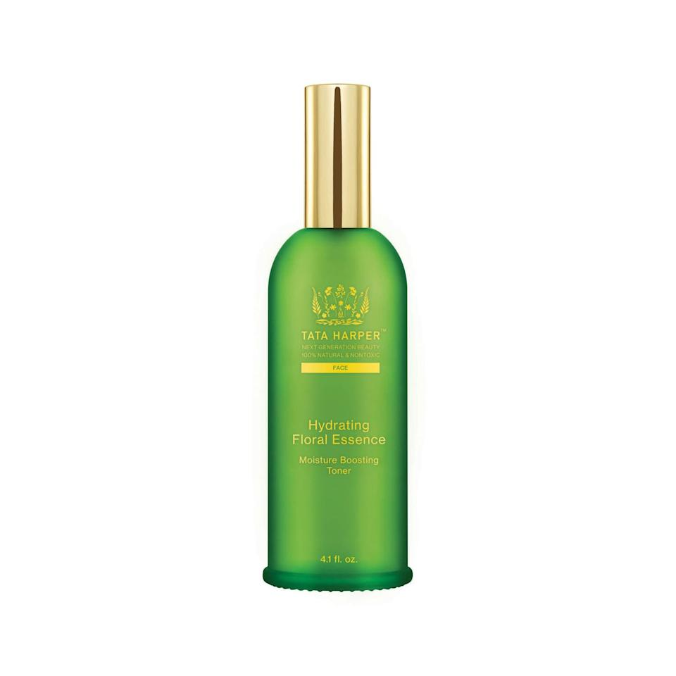 """<p>In order to give your serums and moisturizers the best chance to truly hydrate your skin, it's imperative to use an essence or toner prior. The Tata Harper rep likened it to trying to sop up a spill with a bone-dry sponge. It doesn't hold a candle to the work a dampened Scotch-Brite can do.</p> <p><b>Buy: </b><a href=""""https://click.linksynergy.com/deeplink?id=93xLBvPhAeE&mid=1237&murl=https%3A%2F%2Fshop.nordstrom.com%2Fs%2Ftata-harper-skincare-hydrating-floral-essence%2F3596774&u1=SL%2CRX_1911TataHarper_Step2%253AHydratingFloralEssence%2Cpshannon1271%2C%2CIMA%2C653208%2C201911%2CI"""" target=""""_blank"""">Tata Harper Hydrating Floral Essence</a></p>"""