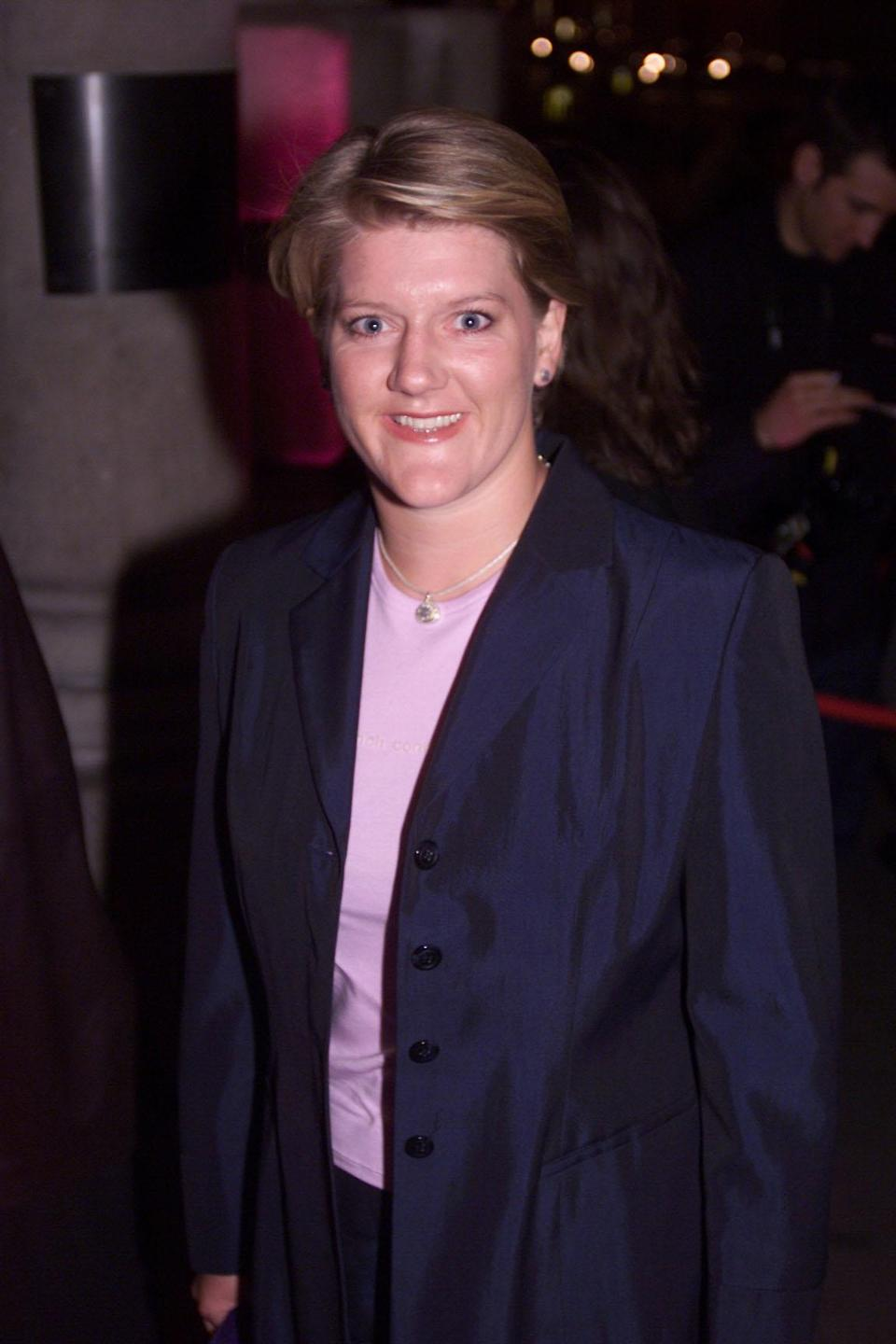 BBC racing anchor Clare Balding, arriving at BBC Television Centre, Wood Lane, London for the launch of the year long nationwide search for Britain's top talent.