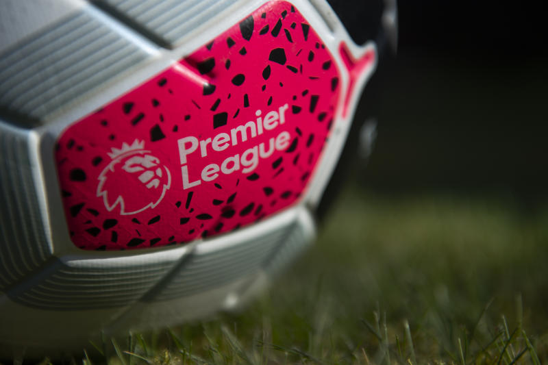 MANCHESTER, ENGLAND - MARCH 27: The official Nike Premier League match ball on March 27, 2020 in Manchester, England (Photo by Visionhaus)