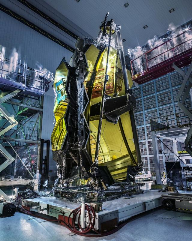 Nasa James Webb telescope ghosties