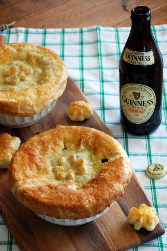 """<p>Maybe you are team pot pie over shepherd's pie. We get it: These mini ones can be made with any stew recipe and store-bought puff pastry.</p><p><a href=""""http://homeiswheretheboatis.net/2013/03/17/beef-and-guinness-pot-pie/"""" rel=""""nofollow noopener"""" target=""""_blank"""" data-ylk=""""slk:Get the recipe from Home is Where the Boat Is »"""" class=""""link rapid-noclick-resp""""><em>Get the recipe from Home is Where the Boat Is »</em></a><br></p>"""