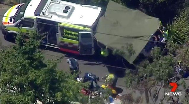 The grandmother died at the scene. Source: 7 News