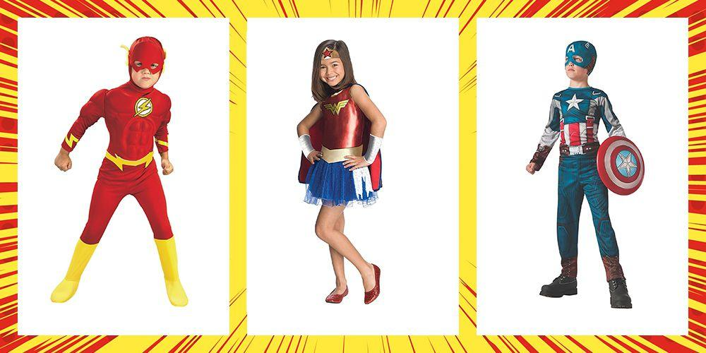 "<p>If your kids love battling mortal enemies, let them dress up as their favorite superheroes <a rel=""nofollow"" href=""http://womansday.com/halloween"">this Hallowee</a>n. Bonus: These <a rel=""nofollow"" href=""https://www.womansday.com/style/fashion/g490/20-clever-last-minute-costume-ideas/"">affordable options</a> pull double-duty whenever they want to play make-believe with their friends. <br></p>"