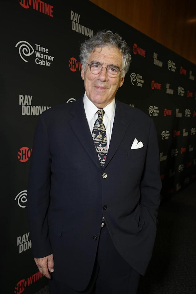 Elliot Gould arrives at the Showtime premiere of the new drama series Ray Donovan presented by Time Warner Cable, on Tuesday, June, 25, 2013 in Los Angeles. (Photo by Eric Charbonneau/Invision for Showtime/AP Images)