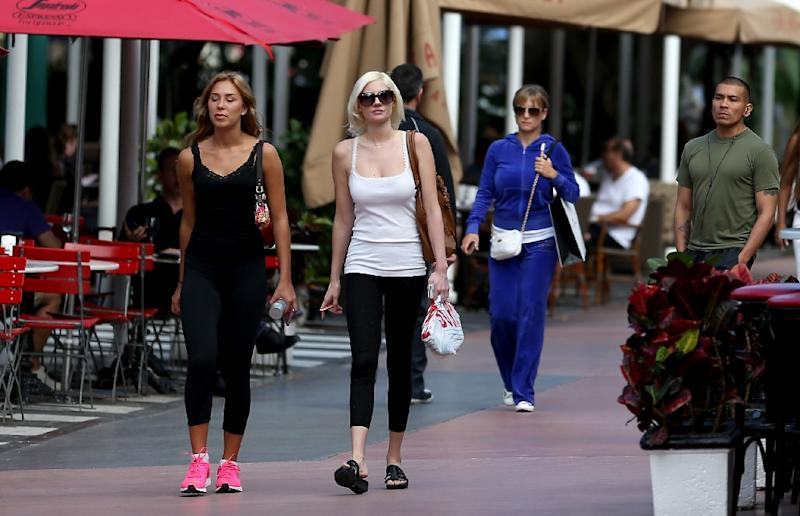 Yoga pants and leggings have become standard casual attire in the US even outside the gym