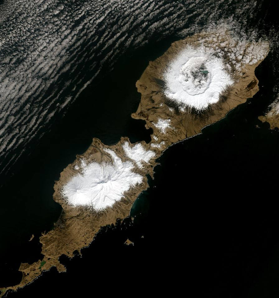 "<p>It's difficult to imagine that a volcano erupting clouds of rock and ash into the skies above Alaska's Aleutian Islands could influence goings on in ancient Rome. </p><p>But that's exactly what a team of scientists say happened. A new <a href=""https://www.pnas.org/content/early/2020/06/17/2002722117"" target=""_blank"">paper</a> published June 22 in the Proceedings of the National Academy of Sciences claims that the 43 B.C. eruption of <a href=""https://www.popularmechanics.com/science/environment/a28988340/forecast-volcanic-eruptions/"" target=""_blank"">Okmok volcano</a> spurred climatic changes that led to the fall of the Roman republic and, subsequently, the rise of the Roman empire.</p><p>During an eruption, a volcano can belch out millions of tons of ash and sulfate aerosols into the atmosphere. They can blot out the sun and, in the short term, dramatically cool down the global climate, often leading to devastating crop losses, famine, and disease. These aerosols also become trapped in ice, providing scientists with a critical window into the world's climate history. </p><p>Researchers probed ice cores and found samples of volcanic ash and sulfur. They tried to match these samples with rocks from Russia's Shiveluch volcano, Italy's Mount Etna, and Apoyeque in Nicaragua. Okmok volcano's eruption in Alaska, however, matched perfectly. ""It's an incredible coincidence that it happened exactly in the waning years of the Roman Republic when things were falling apart,"" climate scientist and study co-author Jospeh McConnell of the Desert Research Institute in Reno, Nevada, told <a href=""https://www.nytimes.com/2020/06/22/science/rome-caesar-volcano.html"" target=""_blank"">the New York Times</a>.</p><p>Over 1,500 volcanoes around the world have been active in the past 10,000 years. Okmok isn't the only volcanic eruption to have played a central role on the world's stage. Here are seven other volcanic eruptions that changed the course of history. </p>"