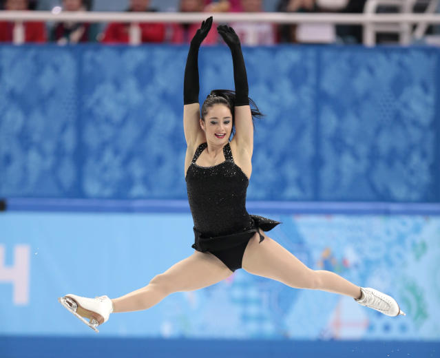 <p>Since coming back from injury, Kaetlyn has regained her elite form with jumps that are among the highest and fastest in the world. (AP) </p>