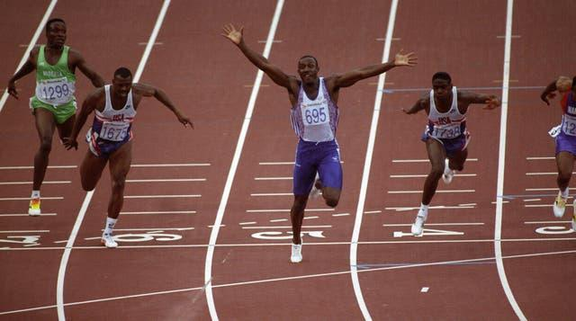 Linford Christie – Men's 100m Final – Barcelona Olympic Games 1992