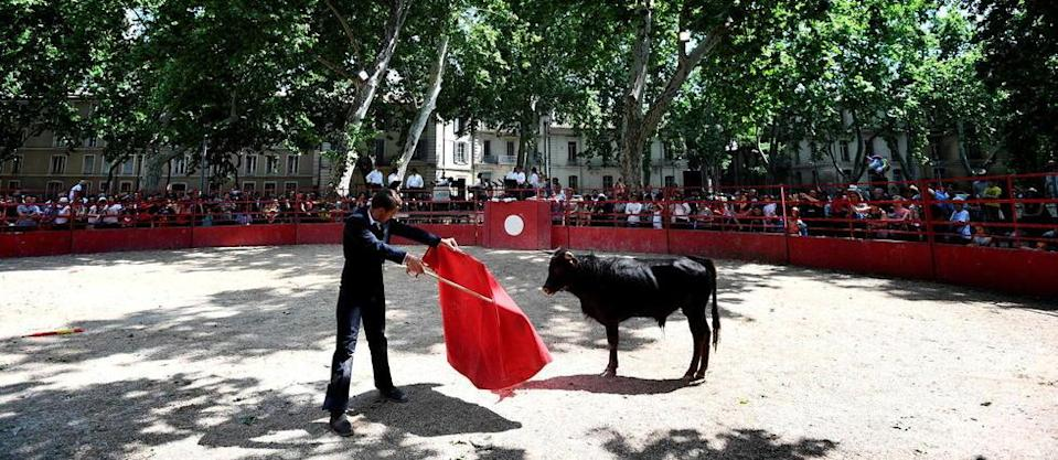 Une corrida à Nîmes en 2018 (photo d'illustration).