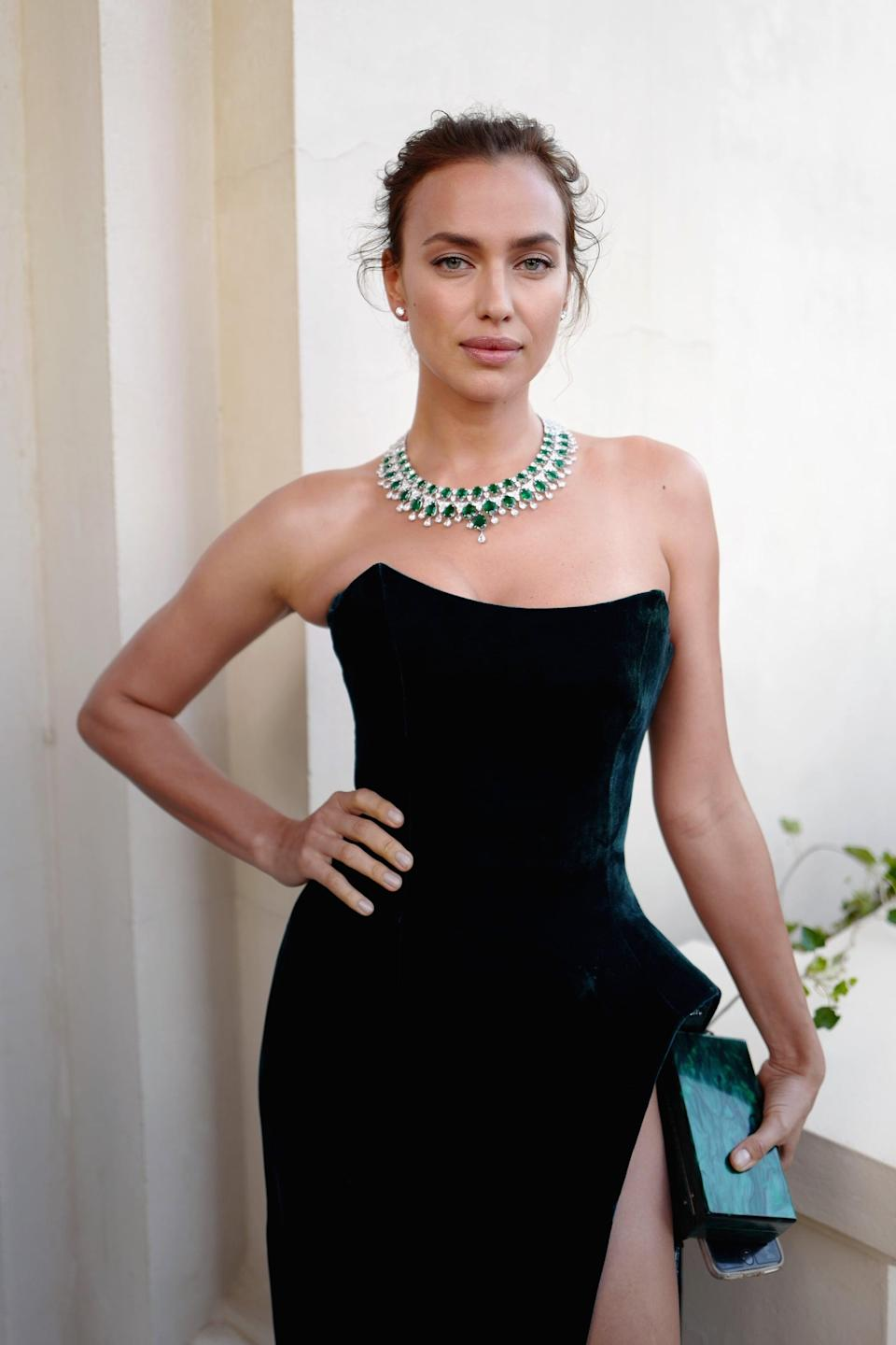 """<p>Since his split from Kim, <a href=""""https://www.popsugar.com/celebrity/are-kanye-west-irina-shayk-dating-48365319"""" class=""""link rapid-noclick-resp"""" rel=""""nofollow noopener"""" target=""""_blank"""" data-ylk=""""slk:Kanye appears to have moved on with Irina Shayk"""">Kanye appears to have moved on with Irina Shayk</a>. After much speculation, the two were spotted on a French getaway for Kanye's 44th birthday in June 2021. According to <b>Us Weekly</b>, <a href=""""https://www.usmagazine.com/celebrity-news/news/kanye-west-is-dating-irina-shayk-amid-kim-kardashian-divorce/?utm_source=popsugar.com&amp;utm_medium=referral&amp;utm_campaign=pubexchange_article"""" class=""""link rapid-noclick-resp"""" rel=""""nofollow noopener"""" target=""""_blank"""" data-ylk=""""slk:the two are dating"""">the two are dating</a> and """"getting to know one another. """"He's always thought she was beautiful and they're both looking forward to seeing where this goes,"""" a source said. </p> <p><a href=""""https://www.popsugar.com/celebrity/kanye-west-and-irina-shayk-relationship-timeline-48367801"""" class=""""link rapid-noclick-resp"""" rel=""""nofollow noopener"""" target=""""_blank"""" data-ylk=""""slk:Irina and Kanye have actually known each other"""">Irina and Kanye have actually known each other</a> for over a decade. She starred in his 2010 music video for """"Power"""" and modeled in his 2012 Yeezy Paris Fashion Week show.</p>"""