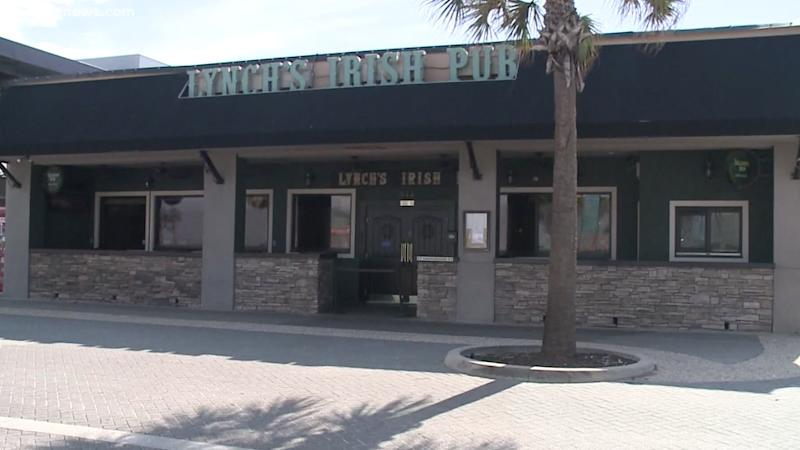 Erika Crisp and her friends went to Lynch's Irish Pub in Jacksonville. The venue is pictured here.