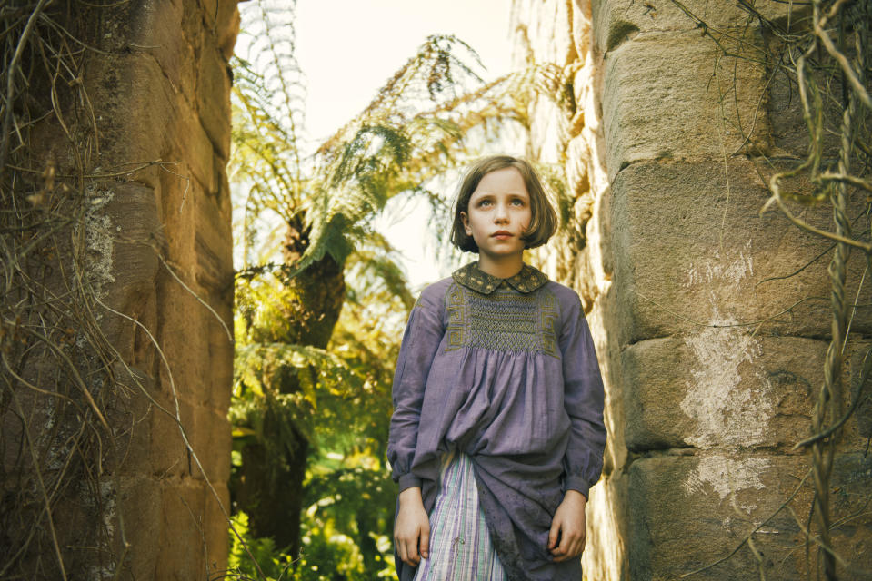 The Secret Garden, a Sky original tells the story of Mary Lennox, a 10-year-old girl sent to live with her uncle Archibald Craven. (Sky Cinema)