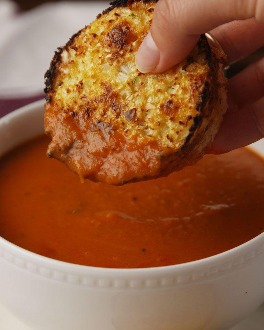 """<p>Could there BE a more perfect pairing on a cozy night?</p><p>Get the recipe from <a href=""""https://www.delish.com/cooking/recipe-ideas/recipes/a55812/cauliflower-cheddar-biscuits-recipe/"""" rel=""""nofollow noopener"""" target=""""_blank"""" data-ylk=""""slk:Delish"""" class=""""link rapid-noclick-resp"""">Delish</a>.</p>"""