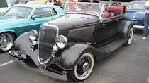 """<p>These hot rods are a historical staple for drag racing, and it is not unusual for these cars to come in a variety of custom configurations. Many versions of the Deuce are """"Hi-Boys,"""" meaning that their fenders have been taken off, which exposes the full wheel without mud-cap protection. A 1932 Ford """"Hi-Boy"""" Roadster was auctioned last month and sold for $65,450. Another popular configuration of the Deuce is a five-window Coupe. These beautiful vehicles range in price, however a 1932 Ford Coupe with a gorgeous green exterior sold for $37,400 in 2018.</p>"""