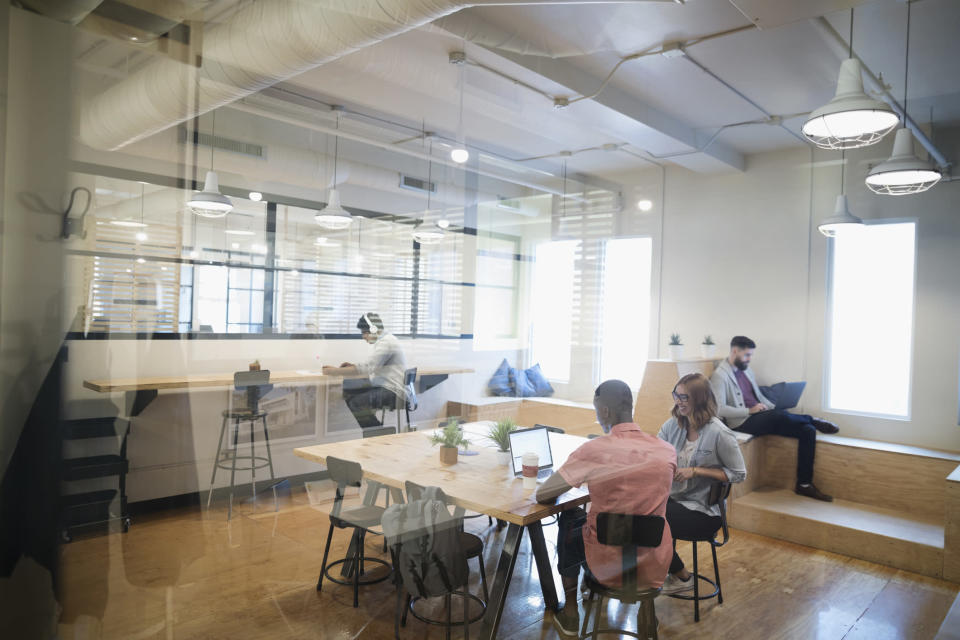 Co-working spaces have been opening up to accommodate freelancers, self-employed workers, small teams and start-ups as the gig economy continues to grow.<i> Photo: Getty</i>