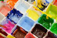 """<p>There are a lot of different paint options to consider, but the best thing to keep in mind is your <a href=""""https://www.popsugar.com/beauty/what-my-skin-type-quiz-48120669"""" class=""""link rapid-noclick-resp"""" rel=""""nofollow noopener"""" target=""""_blank"""" data-ylk=""""slk:skin type"""">skin type</a>. The most popular and easy-to-use paints are water-based since all you need is water to activate them. You can use alcohol-based paints if you want a more realistic effect, but they can be irritating on sensitive skin (and are not as beginner-friendly). Then, there are cream paints. While creams are pigmented and easy to use, many don't like them because they move around a lot and are hard to set, especially if you have oily skin.</p>"""