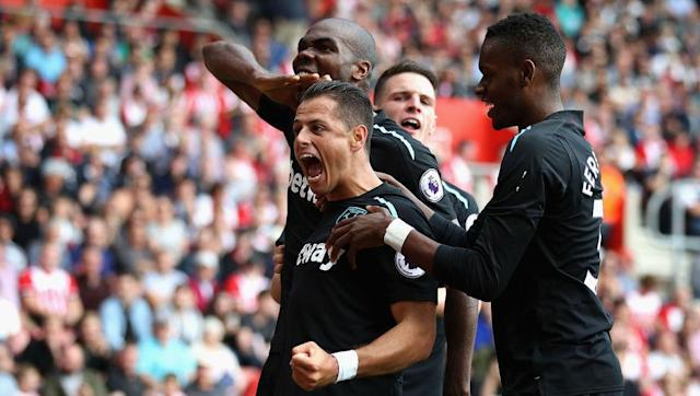<p>Seeing Marko Arnautović sent off after 33 minutes made Saturday afternoon very tough for West Ham indeed, who eventually succumbed to Southampton's pressure in a 3-2 defeat.</p> <br><p>However, Javier Hernández will have given the Hammers' fans cause for hope, scoring a well-taken brace with his trademark ability for close-range finishing.</p> <br><p>'Chicharito' has an innate ability to be in the right place at the right time, which could prove invaluable for his side this season.</p>
